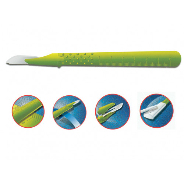 GIMA Premium-leikkausveitsi no.10 steriili 10kpl