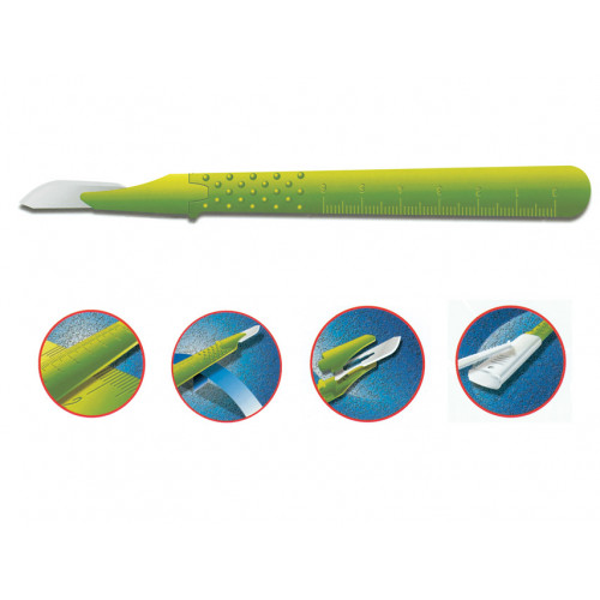 GIMA Premium leikkausveitsi no. 23 steriili 10kpl