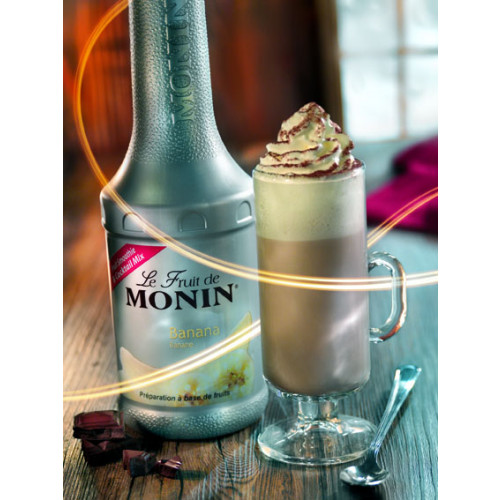 Le Fruit de MONIN Puree Banana(banaani) 100cl