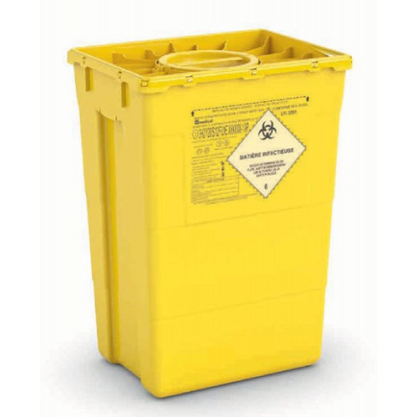 SC DUO 50L kliinisen jätteen astia