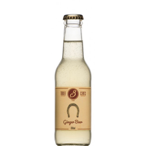Three Cents Ginger Beer 24x200ml