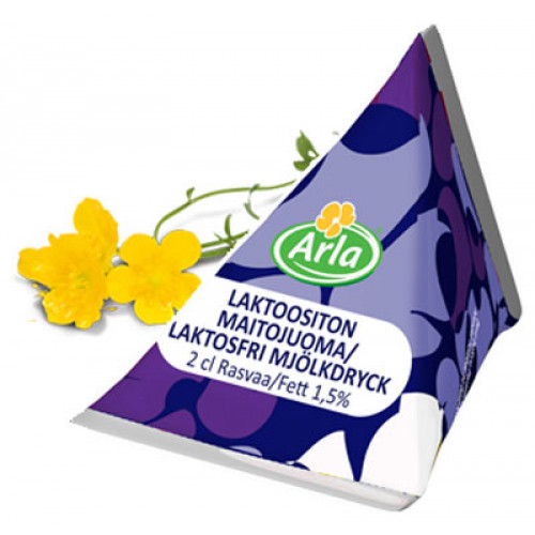 Arla Laktoositon annosmaito 1,5% 2cl 100kpl
