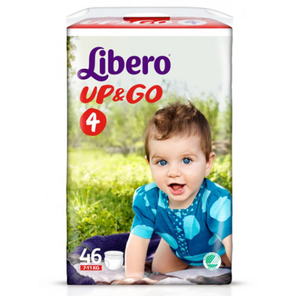 Libero Up&Go housuvaippa koko 4 7-11kg 176kpl