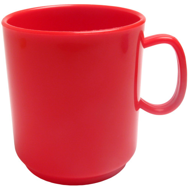 Muki 25cl punainen PP-muovi 5kpl
