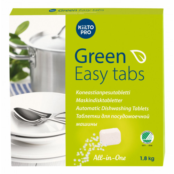 Kiilto Green Easy Tabs konetiskitabletti 100kpl