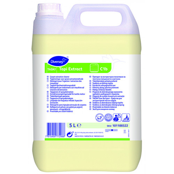 TASKI Tapi Extract tekstiilipintojen pesuaine 5L (101100322)