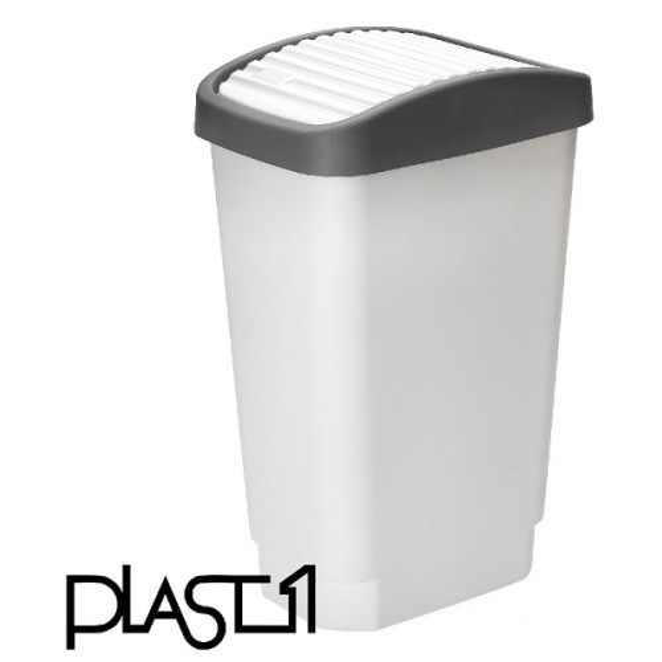 Plast1 Roska-astia heilurikansi 10L muovi valkoinen