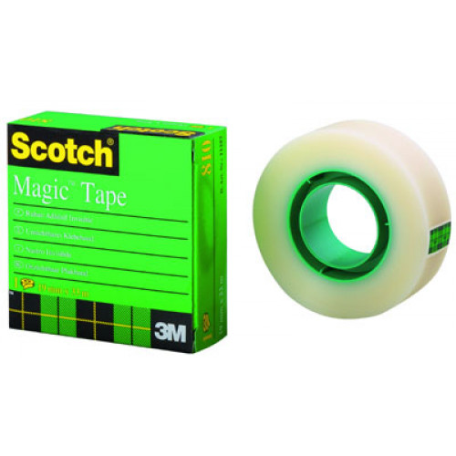 Scotch® Magic™ 810 asiakirjateippi 12mm/33m