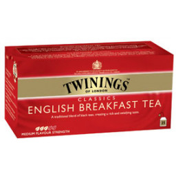 Twinings English Breakfest tee 2g x 25kpl