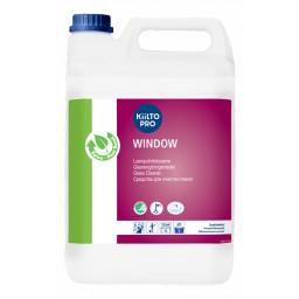 Kiilto Ikkunanpuhdistus lasipintojen puhdistusaine 5L