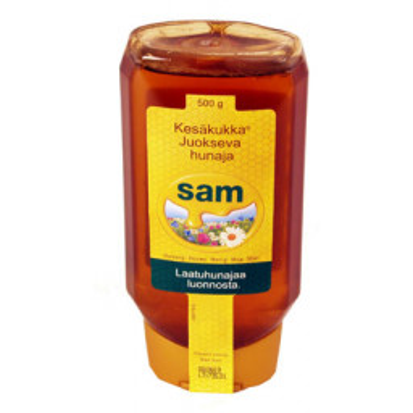 Sam Kesäkukka Juokseva hunaja 500g