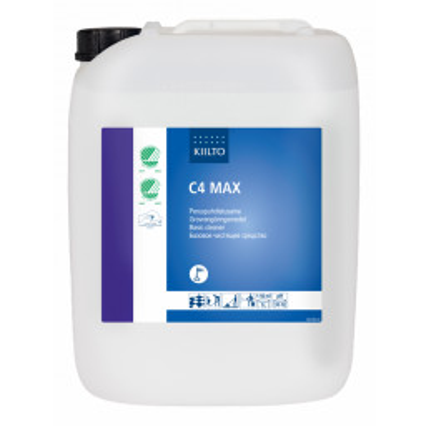 Kiilto C4 Max emäksinen puhdistusainetiiviste 20L