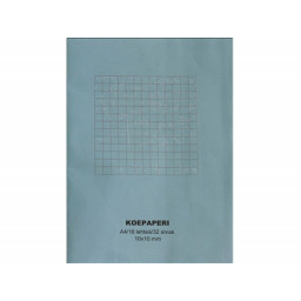 Koepaperi 2xA4/16 10x10mm