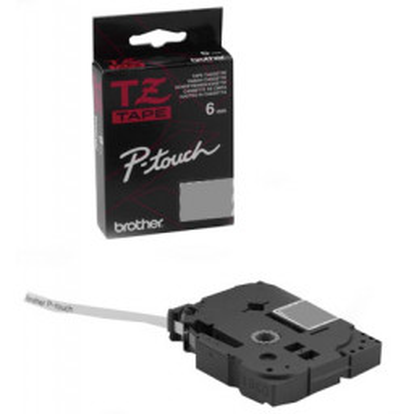 Tarrakasetti Brother P-Touch TZe211 6mm/8m musta/valkoinen