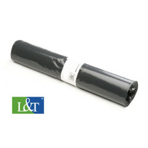 Jätesäkki 140L musta LD-PE 900x1300/0,040 10kpl