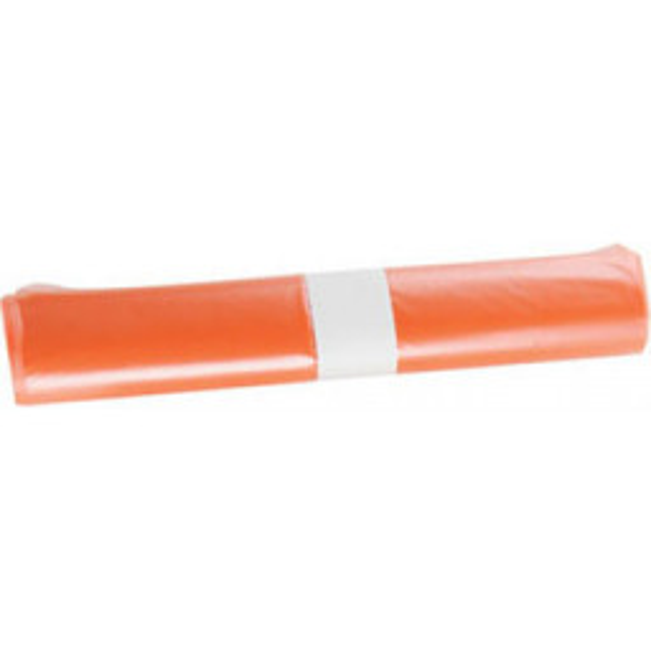 Roskapussi 30L oranssi LD 500x700/0,03 50kpl